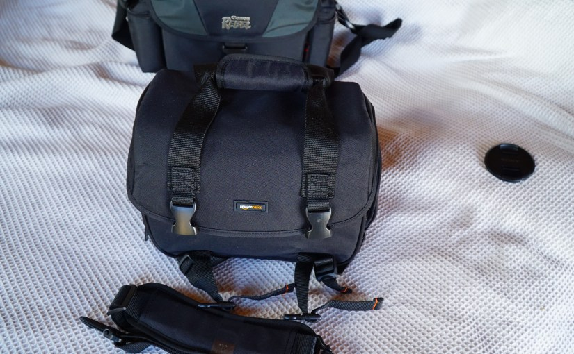 <em>AmazonBasics Large DSLR Gadget Bag</em> – A Quick Review