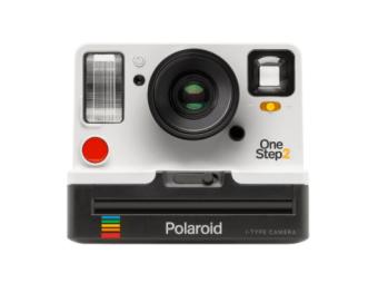 White colored OneStep 2 i-Type Camera