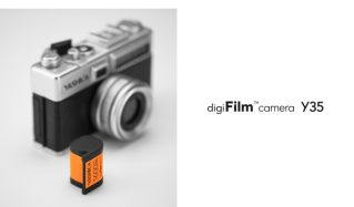 The new Yashica camera with 'digital film'