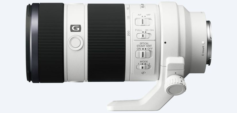 The Sony 200-600mm G Lens