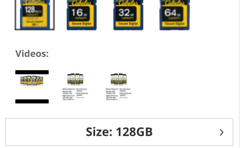 Cabela's Branded SD Cards are a Rip-off