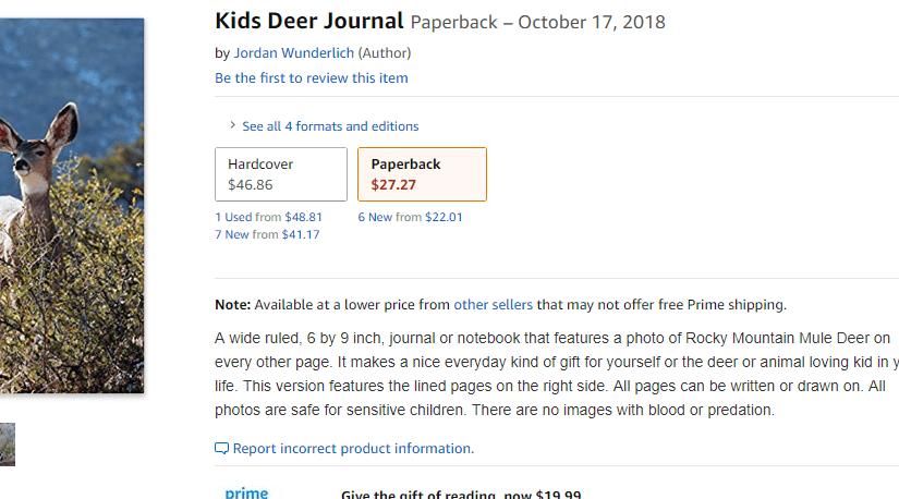 Free Kids Animal Journal!