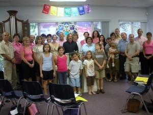 Covenant Mennonite Pink Menno Sunday oct11