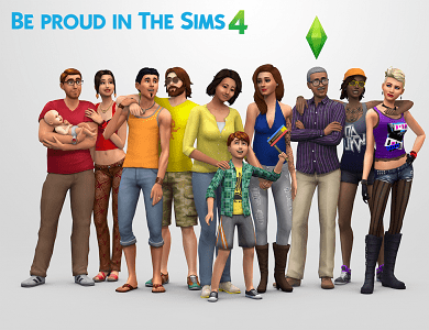 Be Proud in Sims 4 2