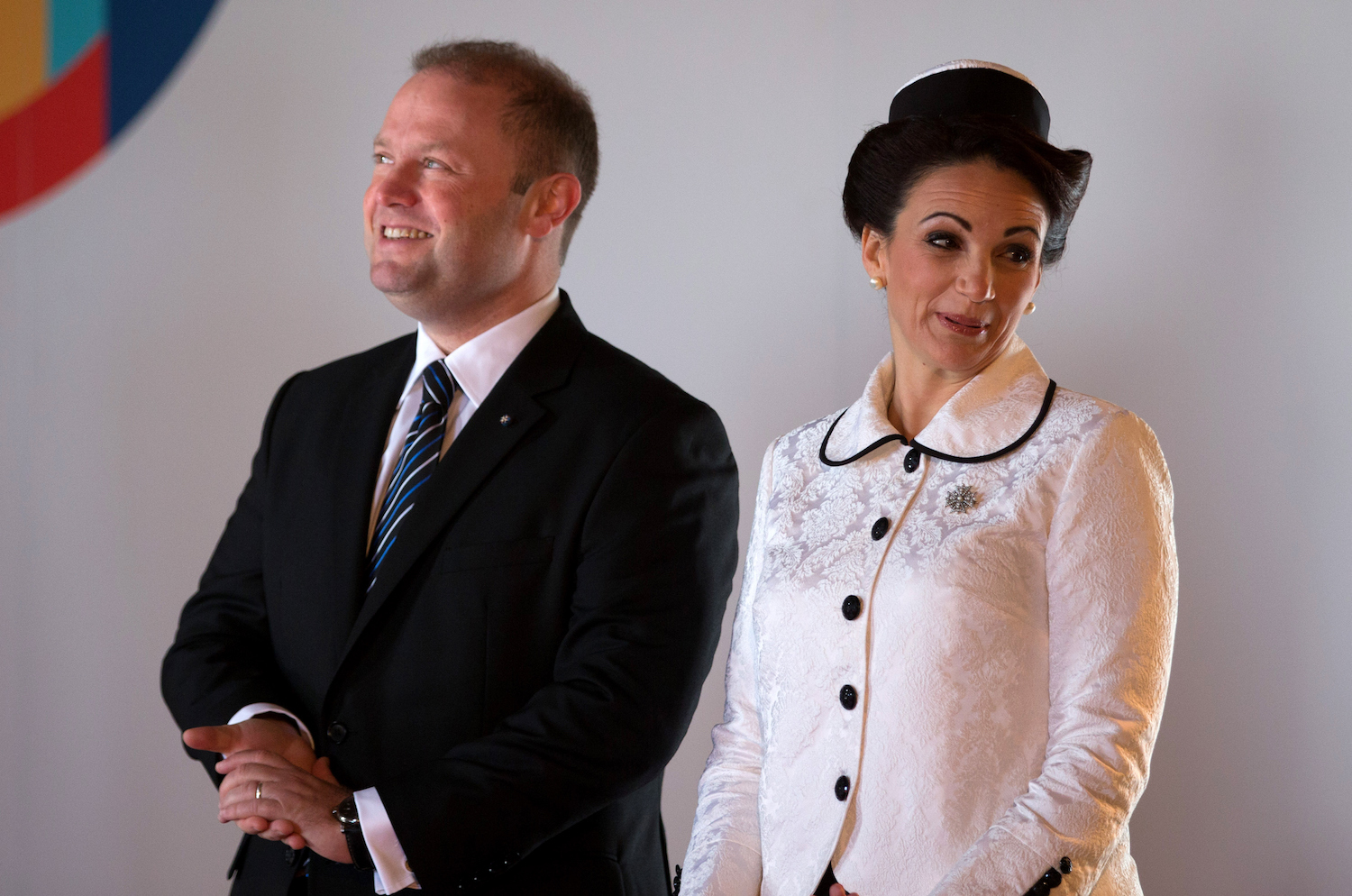 Image result for malta prime minister muscat and wife