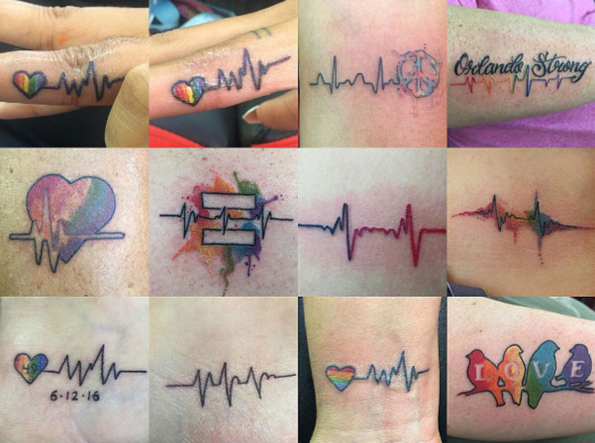 Check out these stunning Orlando remembrance tattoos that show love ...