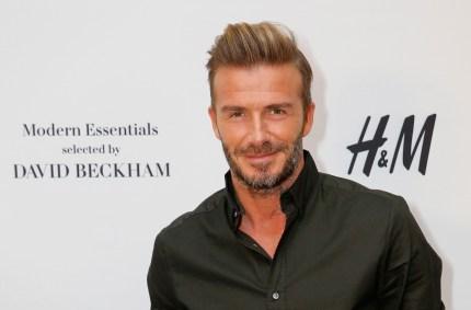 David Beckham is no stranger to a collab (Getty)