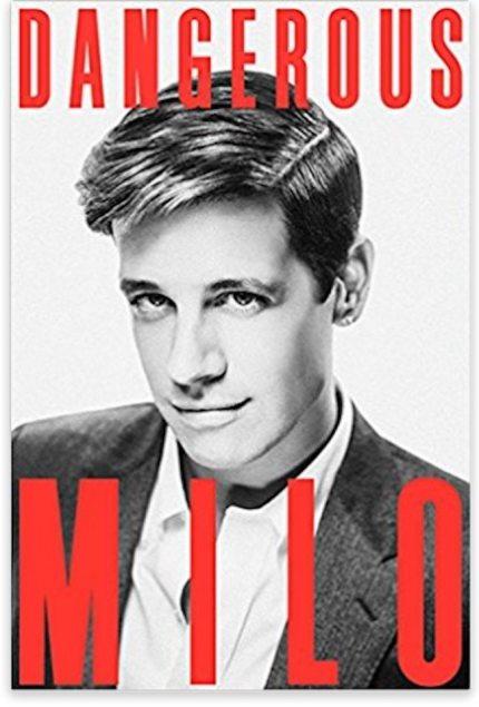 Dangerous book cover Milo
