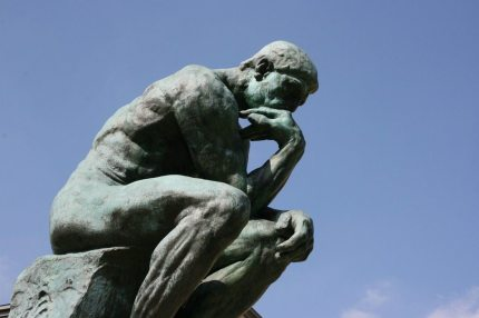 Rodin's The Thinker (CC0 Creative Commons)