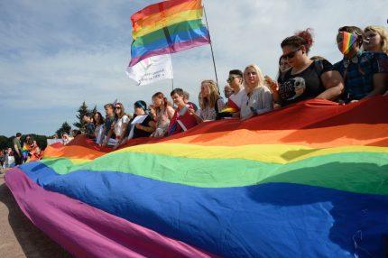 St Petersburg Pride in Russia