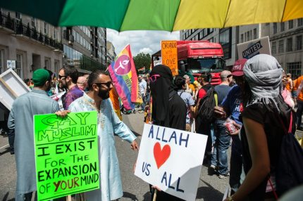 Muslims at Pride in London (Chris J Ratcliffe/Getty Images)