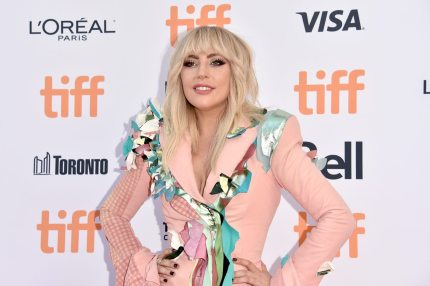 """TORONTO, ON - SEPTEMBER 08: Lady Gaga attends the """"Gaga: Five Foot Two"""" premiere during the 2017 Toronto International Film Festival at Princess of Wales Theatre on September 8, 2017 in Toronto, Canada. (Photo by Alberto E. Rodriguez/Getty Images)"""