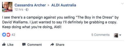 A lover of Aldi