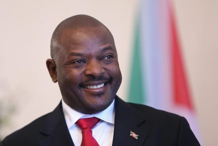 Burundi President Pierre Nkurunziza (Getty)