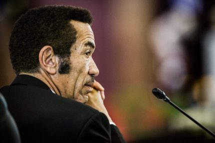 President Ian Khama's government has repeatedly stood against LGBT rights (Getty)