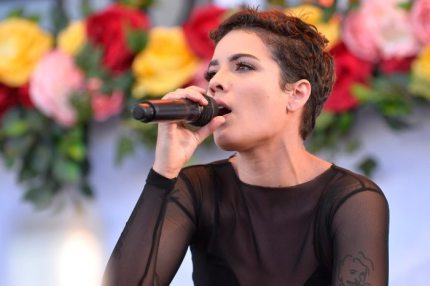 performs onstage during the Daytime Village Presented by Capital One at the 2017 HeartRadio Music Festival at the Las Vegas Village on September 23, 2017 in Las Vegas, Nevada.