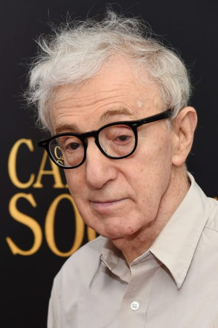 """NEW YORK, NY - JULY 13: Woody Allen attends the premiere of """"Cafe Society"""" hosted by Amazon & Lionsgate with The Cinema Society at Paris Theatre on July 13, 2016 in New York City. (Photo by Jamie McCarthy/Getty Images)"""