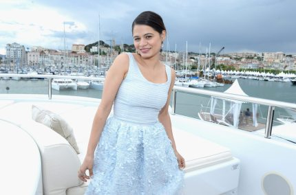 CANNES, FRANCE - MAY 19:  Mselonie Diaz attends The Art of Elysium, Rabbit Bandini and Leon Max event for Ahna O'Reilly at Festival de Cannes during the 66th Annual Cannes Film Festival at  on May 19, 2013 in Cannes, France.  (Photo by Michael Buckner/Getty Images for Torch)