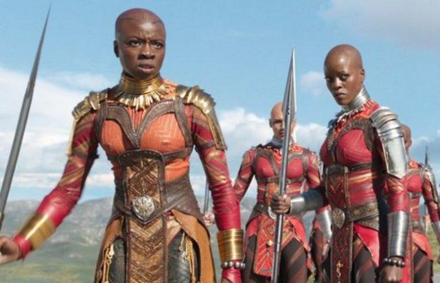 Resultado de imagen para Okoye y W'Kabi en la pelicula de black panther