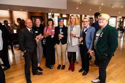 Pink News Summer Reception, Scottish Parliament, Edinburgh.
