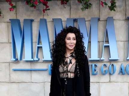 Cher attends the UK Premiere of Mamma Mia! Here We Go Again