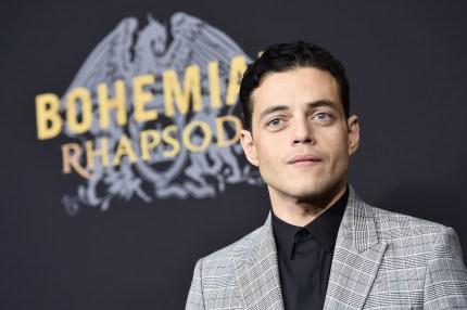 Bohemian Rhapsody star Rami Malek attends the film's premiere