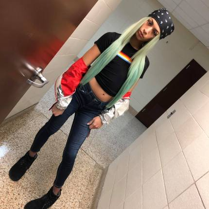 Trans girl Cece, a student at Osseo Senior High School student