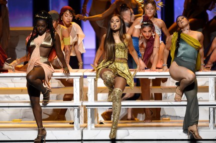 """Ariana Grande performs """"God Is a Woman"""" at the 2018 MTV Video Music Awards"""