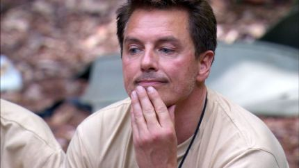 John Barrowman, who is back in the I'm A Celebrity jungle after spending a night in hospital