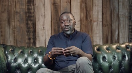 Openly gay priest Reverend Jide Macaulay discusses reconciling his faith and his sexuality in a clip of Stonewall's BAME Voices documentary.