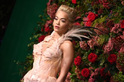 """Rita Ora, who recently said she hopes her song """"Girls"""" will help girls to come out as gay"""