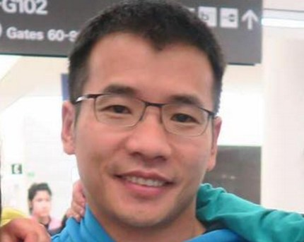 A Facebook profile picture of Grindr president Scott Chen