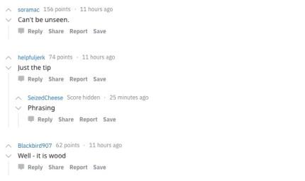 "Reddit users discuss Apple's Christmas ""penis"" tree"