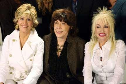 Jane Fonda, Lily Tomlin and Dolly Parton