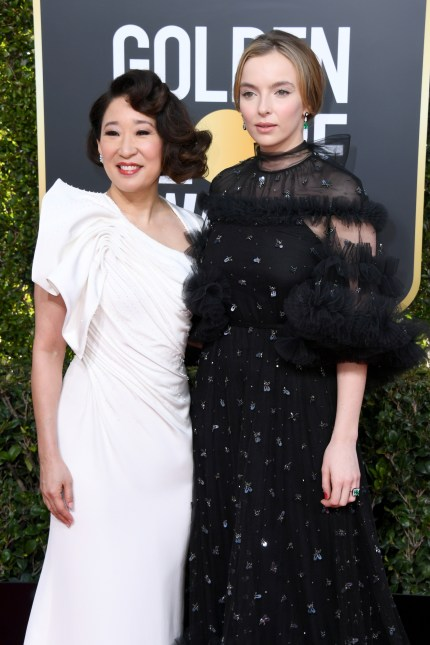 Golden Globes 2019: KILLING EVE'SSANDRA OH AND JODIE COMER