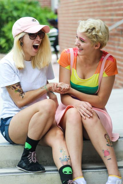 Queer fashion girls