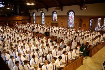 Covington Catholic High School students