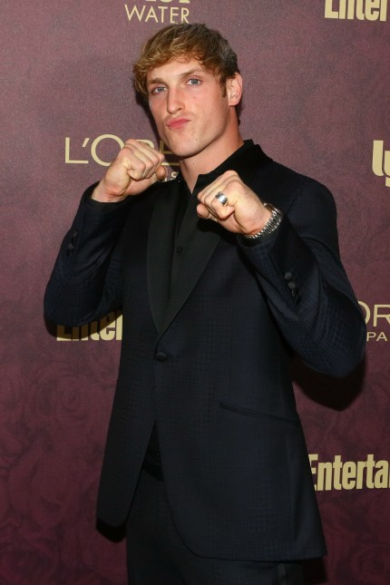 Logan Paul arrives to the 2018 Entertainment Weekly Pre-Emmy Party at Sunset Tower Hotel on September 15, 2018 in West Hollywood, California