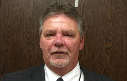 Lee Livengood, an assistant principal at Liberty High School, who was suspended for alleged harassment of trans student Michael Critchfield