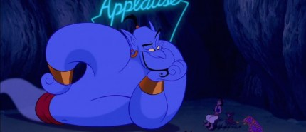 Gay Disney characters: Genie from Aladdin