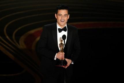 Rami Malek wins Oscar.