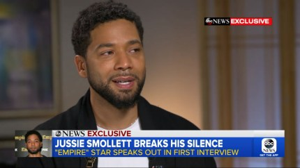Jussie Smollett speaks to Good Morning America in the wake of the alleged attack