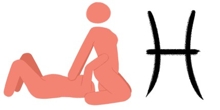 Best sex position for zodiac sign: Pisces. Face sitting.