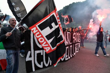 """Members of Italian far-right political party """"Forza Nuova"""" (New Force) will join the March for the Family organised by the World Congress of Families in Verona on Sunday (March 31)."""