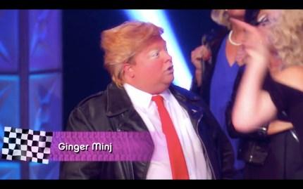 Ginger Minj plays Trump in Drag Race season 11.