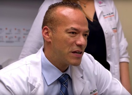 Photo of gender confirmation surgeon Dr. Christopher Salgado.