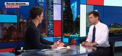 Pete Buttigieg discusses coming out