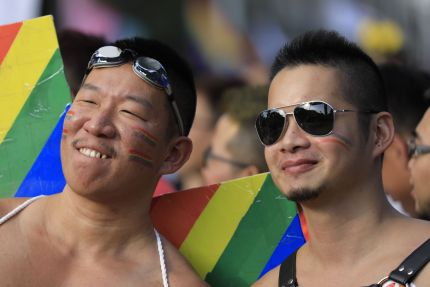 Over 150 people will be married on the first day of gay marriage being legal in Taiwan.