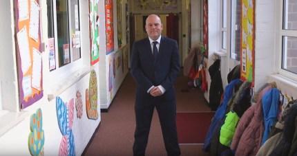 Parkfield Community School teacher Andrew Moffat
