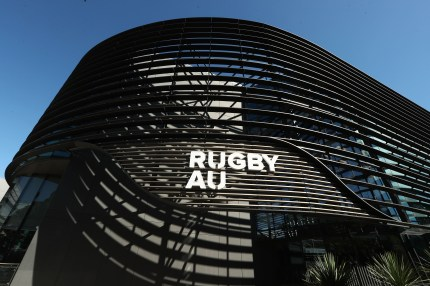A general view of the Rugby Australia building during Rugby Australia's code of conduct hearing into social media posts by Israel Folau, at Rugby Australia HQ in Moore Park on May 04, 2019 in Sydney, Australia.